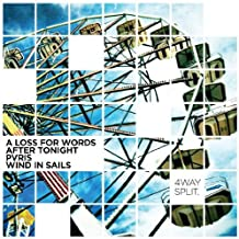 A Loss For Words / After Tonight / Pvris / Wind In Sails - 4 Way Split [Japan CD] IG-45