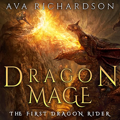 Dragon Mage audiobook cover art