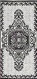 BalajeesUSA Wendbarer Teppich für drinnen und draußen, 2 Stück, 90 x 180 cm, für Camping, Yoga, Picknick, 20249