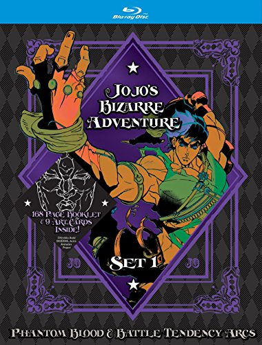 JoJo's Bizarre Adventure Set 1: Phantom Blood and Battle Tendency (Limited Edition) (BD) [Blu-ray]