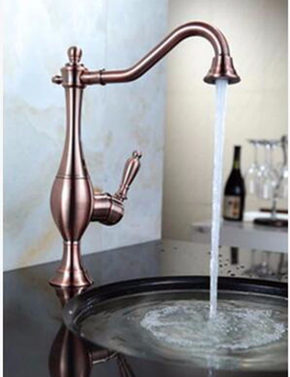 Kitchen Faucet contemporary Black Antique Brass Kitchen Sink Mixer Tap Kitchen Sink Basin Mixer Tap Antique Solid Brass Hot and Cold two handle tap Black Mixer Taps