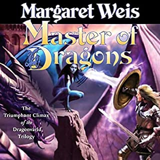 Master of Dragons     Dragonvarld, Book 3              By:                                                                                                                                 Margaret Weis                               Narrated by:                                                                                                                                 Suzanne Toren                      Length: 13 hrs and 53 mins     354 ratings     Overall 3.9