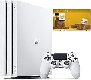 PlayStation 4 Pro グレイシャー・ホワイト 1TB (CUH-7200BB02)【特典】オリジナルカスタムテーマ (配信)