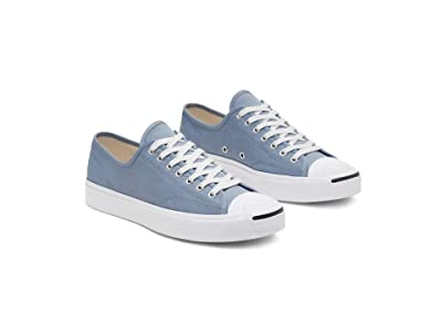 Converse Jack Purcell Twill Ox (Blue Slate/White/White) Shoes