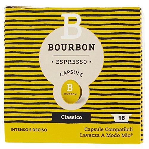 Bourbon Espresso Capsule Classico - 16 capsule