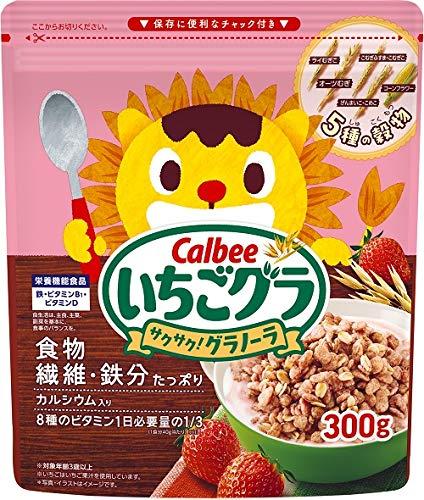 カルビー いちごグラ 300g ×8袋