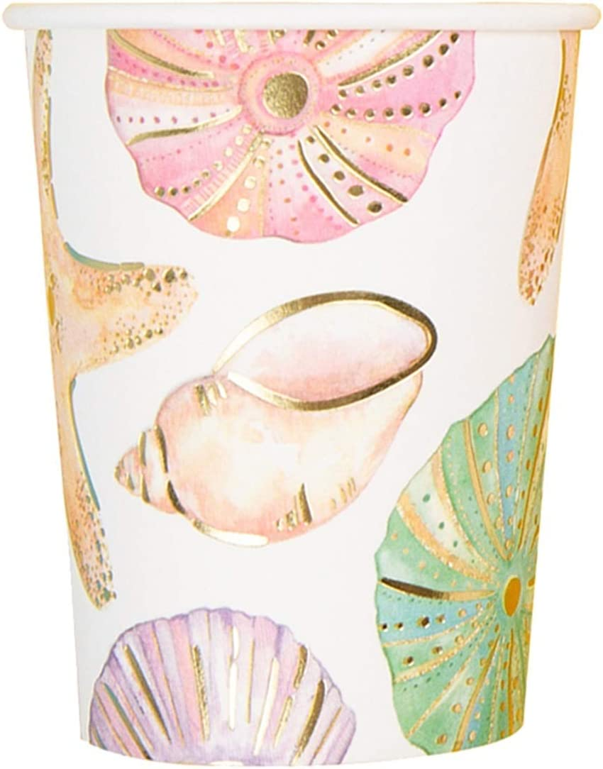Y-xxt Starfish Now on sale Sea Snail ! Super beauty product restock quality top! Disposable Birthday Party Tableware Cup