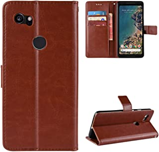 LODROC Leather Wallet Case for Google Pixel 2 XL, [Kickstand Feature] Luxury PU Leather Wallet Case Flip Folio Cover with...