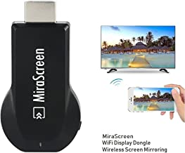 SmartSee MiraScreen Miracast Dongle Wireless Display Adapter HDMI TV Stick Screen Mirroring for Tablet Smartphone