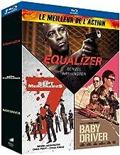 Meilleur de l'action - Coffret : Equalizer + Les Sept Mercenaires + Baby Driver [Francia] [Blu-ray]