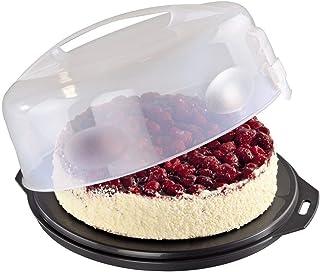 comprar comparacion Xavax 00111514 - Recipiente para conservar y transportar tartas, Antracita/Transparente, Ø 31.5 cm