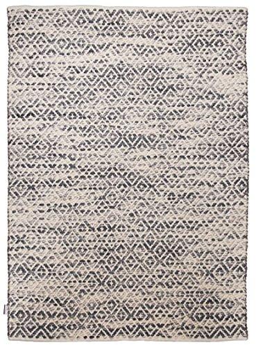 Teppich Marke TOM TAILOR orientalischer Handgewebter Designer Teppich Farbe Grau Groesse auswaehlen 65 x 135 cm