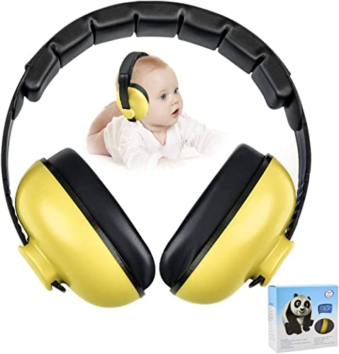 Baby Ear Protection Noise Cancelling Headphones for Kids Noise Reduction Hearing Protection Earmuffs for 0-3 Years Ba...