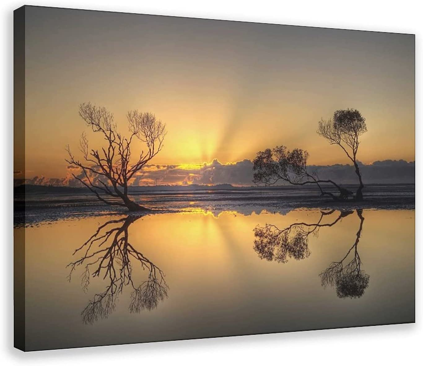 Dusk Low Ranking TOP13 price Scenery 10 Canvas Poster Wall Paint Art Picture Decor Print