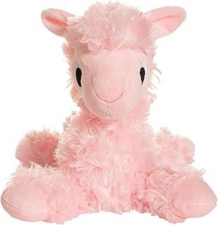 "Manhattan Toy Floppies Baby Llama 7"" Stuffed Animal, Pink"