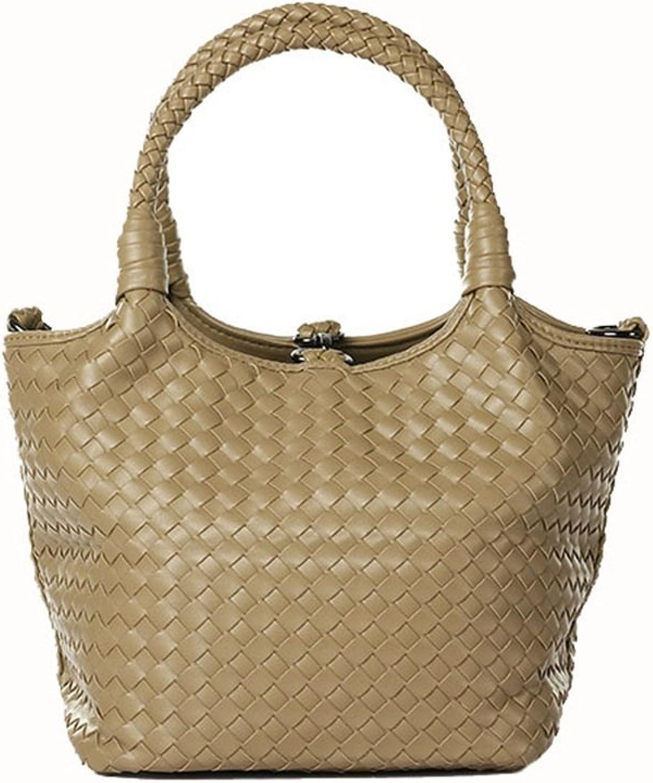 AFCITY Damen Handtasche Kosmetiktasche Frauen einfache vielseitige vielseitige vielseitige Handtasche große Kapazität weiche Oberfläche einfarbig Damen Eimer Tasche Shopper Tasche (Farbe   Aprikose) B07K83NRH4 f602a9