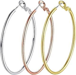 Best pure sterling silver hoop earrings Reviews