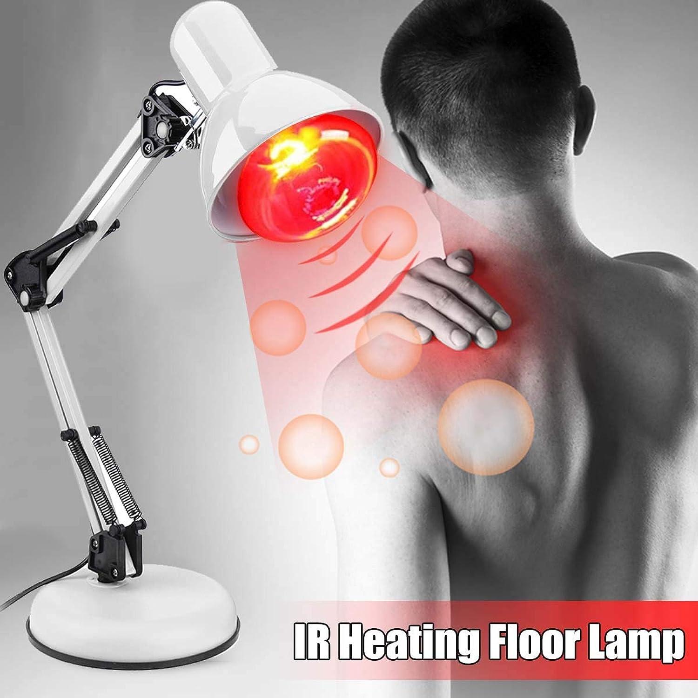 Infrarot-Wrmetherapie-Lampe 220V 150W Infrarot-Wrmetherapie-Lampe Therapeutische Schmerzlinderung Dimmbare Wrme mit Klemme und flexiblem Arm