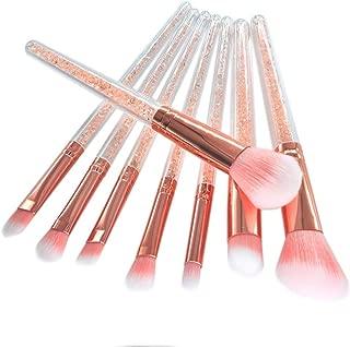 Extremely Soft Rhinestone Glitter Crystal Makeup Brush Set