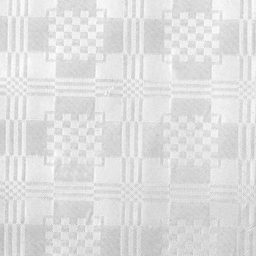 Tork 474057 Damast Papier Napperon, 80X80 cm, 1X250, Weiß