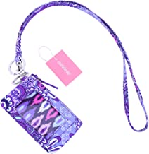 dandodo Card Holder ID Case Badge Neck Strap Lanyard (004Purple)