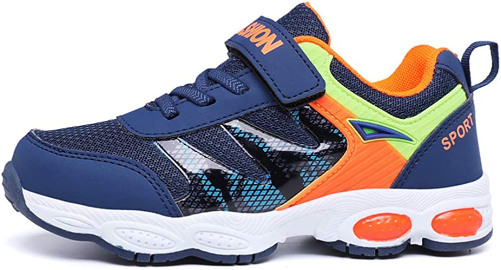 SPKIDS Mesh Breathable Childrens Shoes Sneakers for Little boy