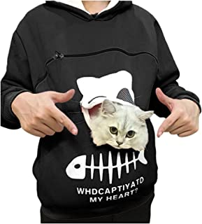 Best lifestyle cat hoodie pouch Reviews
