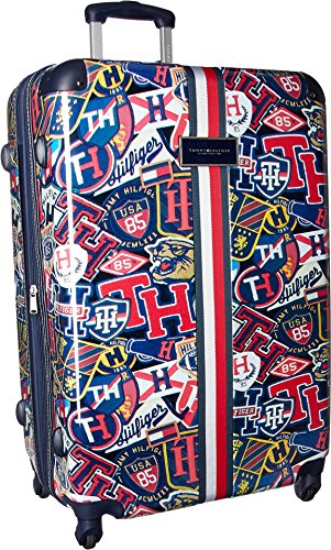 Tommy Hilfiger TH-660 Vintage Rally 29' Upright Suitcase Vintage Rally Print One Size