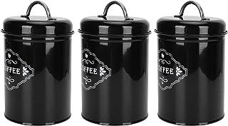 N#A Boîte à thé, Organisateur de Rangement de Cuisine Durable, boîte de Rangement pour café, Pot scellé, protégez Votre ca...
