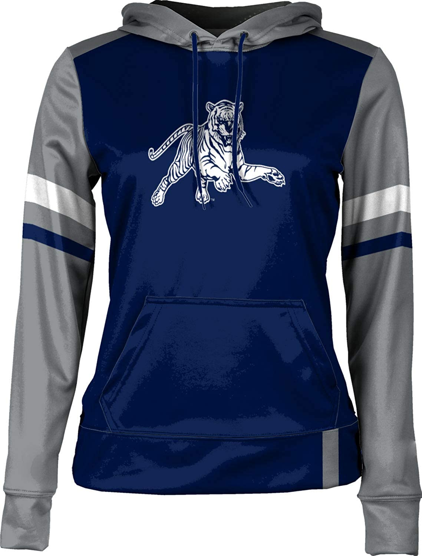 Jackson State University Girls' Pullover Hoodie, School Spirit Sweatshirt (Old School)