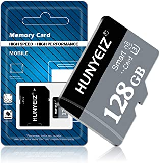 128GB Micro SD Memory Card,128GB Micro SD Card,TF Card 128GB Class 10 with A Free SD Card Adapter for Android Cellphone,Ca...