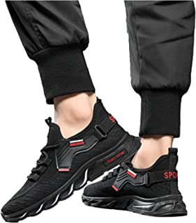Roselan Herren Turnschuhe Laufschuhe Sportschuhe Straßenlaufschuhe Sneaker Joggingschuhe Turnschuhe Fashion Leichtgewichts...