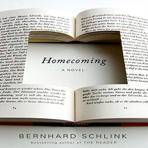 Homecoming     A Novel              By:                                                                                                                                 Bernhard Schlink                               Narrated by:                                                                                                                                 Paul Michael                      Length: 9 hrs and 1 min     23 ratings     Overall 3.0