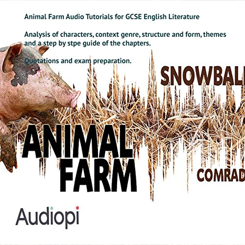 Animal Farm Guide for GCSE English Literature audiobook cover art