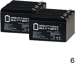 Mighty Max Battery 12V 9AH for Razor Pocket Mod/Pocket Rocket/Sport Mod - 6 Pack Brand Product