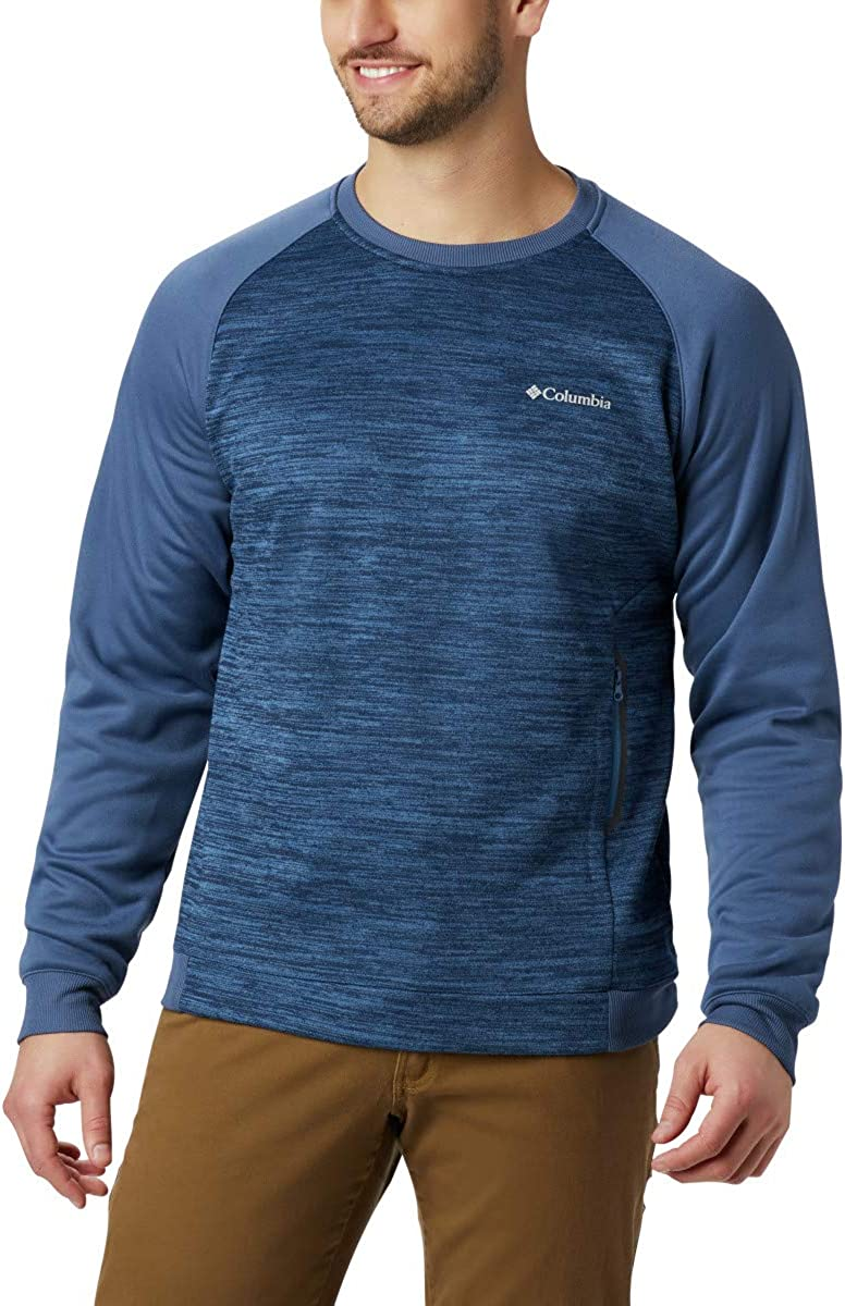 Columbia Tech Trail Midlayer Crew Mens Fleece 1863722 Men
