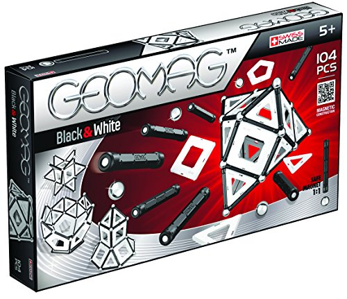 Geomag- Black & White Panels, Multicolor, 104 Piezas (13)