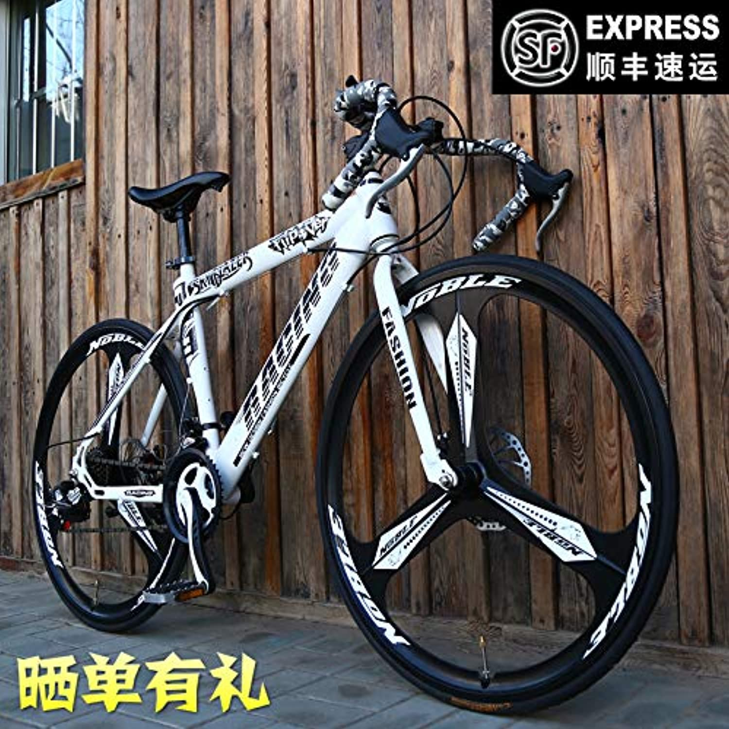 Free Shipping 26inch Variable Speed Mito Dead Fly Bicycle Road Racing 21 Speed Dual disc Brakes Bend The Male and Female Students