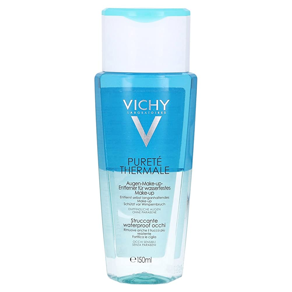 オートメーションロケット禁輸Vichy Purete Thermale Biphasic Cleansing Lotion Eyes 150ml [並行輸入品]