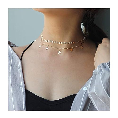 Brandy Melville Star Necklace Amazon Com