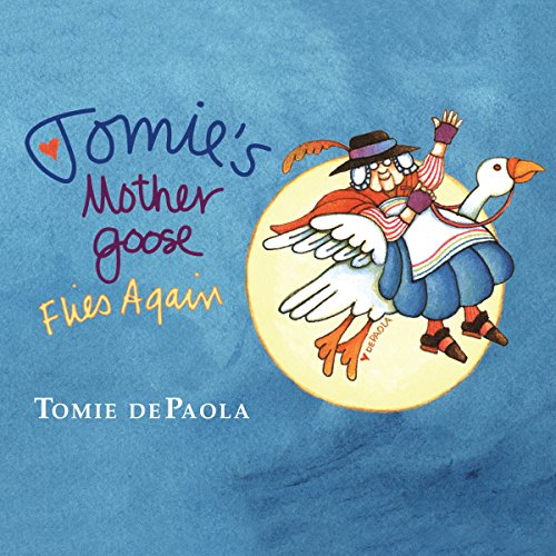 Tomie dePaola's Mother Goose audiobook cover art