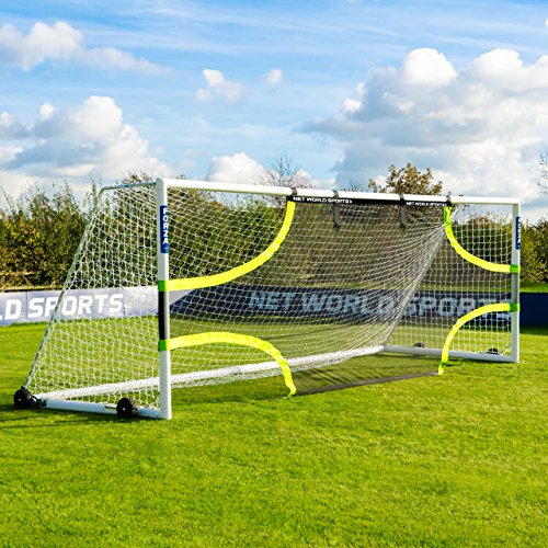 Forza Pro Soccer Goal Target Sheets (Choose Your Size - 12 x 6-24 x 8) - Professional Soccer Training Equipment for Improving Accuracy and Finishing Technique [Net World Sports] (24ft x 8ft)