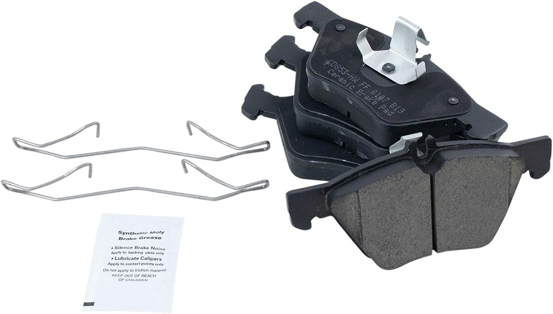 Brake Pad Rotor Front Posi Ceramic 高級 商舗 Merced Kit Set for Chrysler