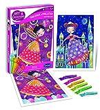 Sentosphère AC Colorea con Purpurina Princesas, Color Unisex 2073