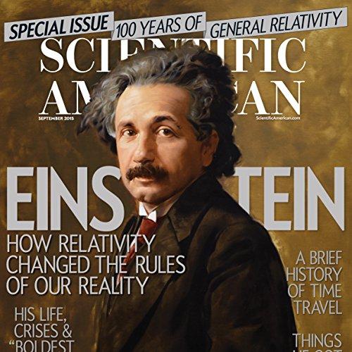 Scientific American, September 2015 audiobook cover art