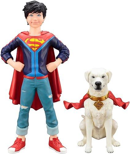 DC Comics ARTFX+ Statue 1 10 2-Pack Super Sons Jonathan Kent & Krypto 15 cm