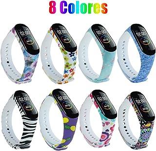 comprar comparacion G-Color Correa Xiaomi mi band 3/4, 8 Colores, Correa de Silicona Blando, Impermeable y Ajustable, Pulsera/Banda/Brazalete ...