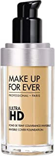 MAKE UP FOR EVER Y235 Ultra HD Invisible Cover Foundation, 30 ml