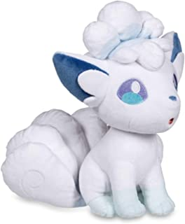 D-Khaleesi Alola Vulpix Ninetales/Kyukon Figure Animal Toys Plush Doll 6-10 inches Xmas Gift (7 in-Vulpix)