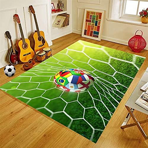 PEIHUODAN Alfombras Futbol Baloncesto Habitacion Juvenil Chico Infantiles Niño Sin Pelo Grande/Pequeñas...